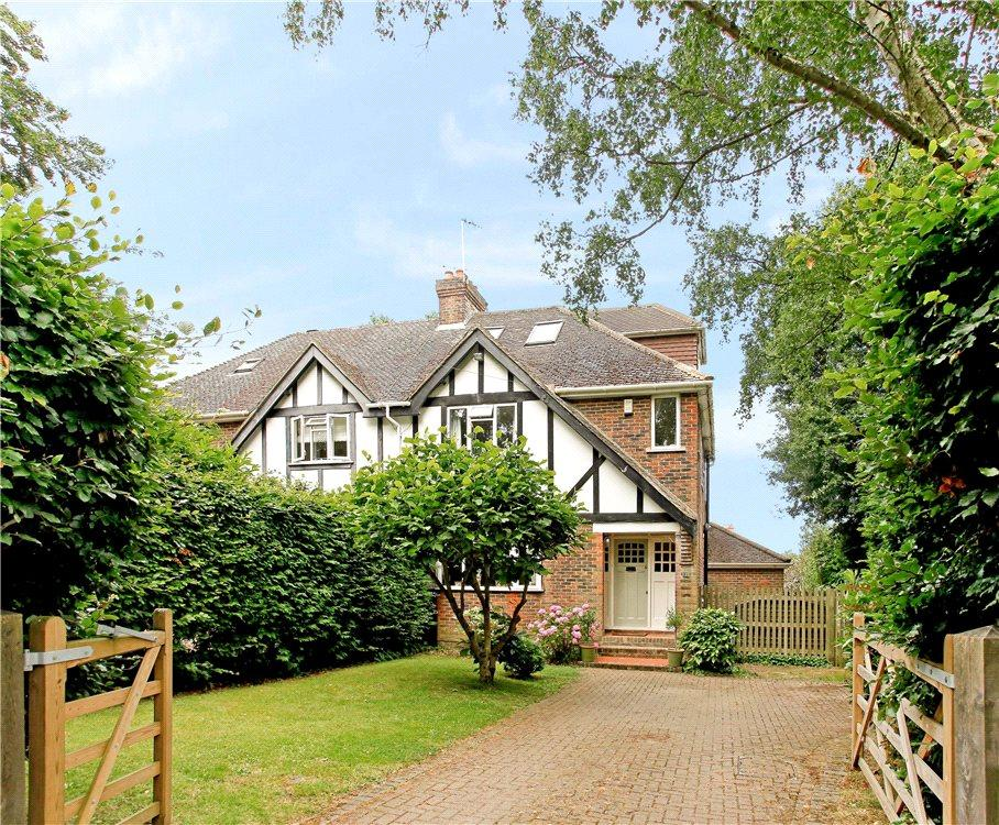 4 Bedrooms Semi Detached House for sale in Wildernesse Mount, Sevenoaks, Kent, TN13