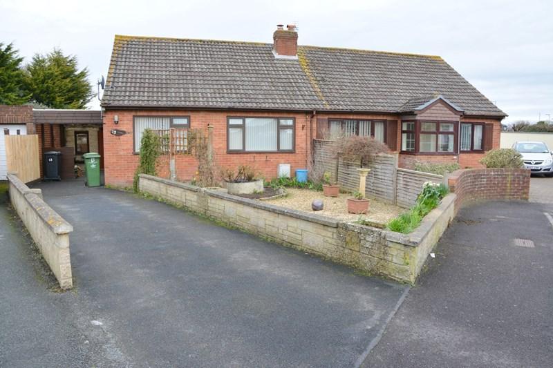 2 Bedrooms Semi Detached Bungalow for sale in Ashcott Place, Burnham-On-Sea