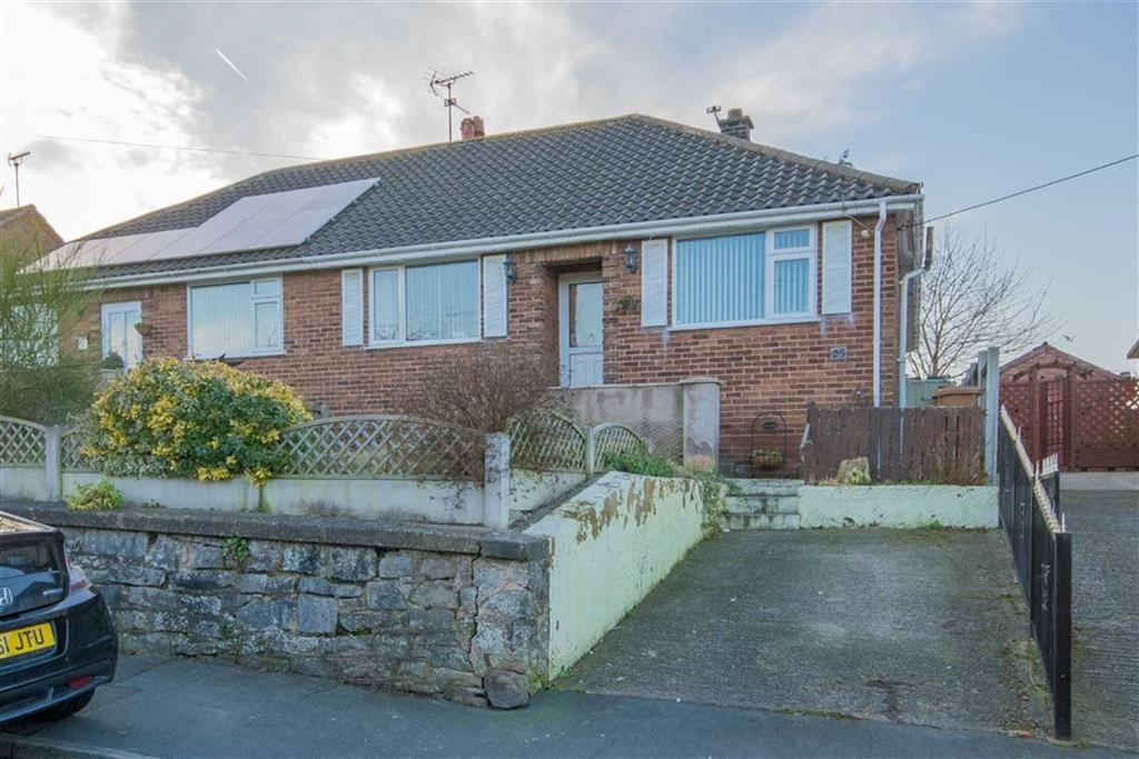 2 Bedrooms Semi Detached Bungalow for sale in Bromfield Lane, Mold