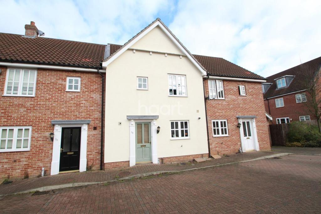 3 Bedrooms Terraced House for sale in Daisy Avenue, Bury St Edmunds
