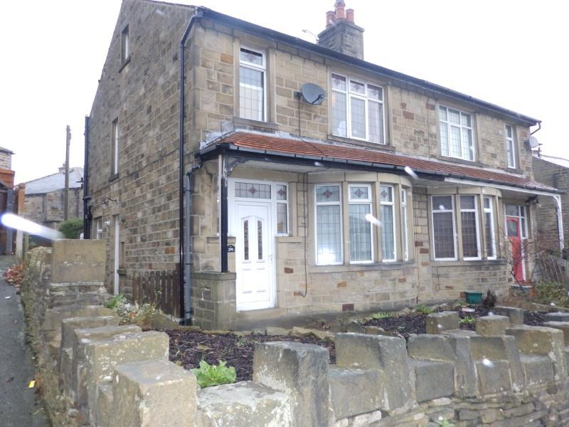 3 Bedrooms Semi Detached House for sale in OAKWORTH ROAD, KEIGHLEY, BD21 1RH