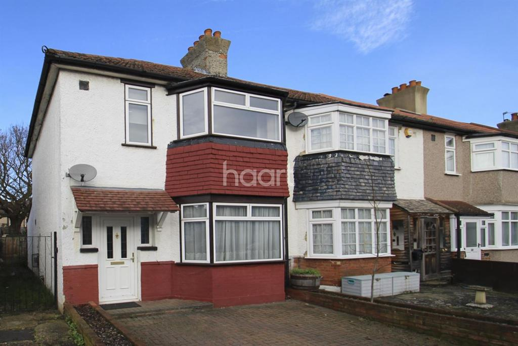 3 Bedrooms End Of Terrace House for sale in Phyllis Ave , KT3
