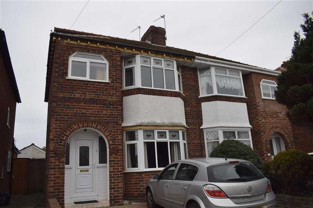 4 Bedrooms Semi Detached House for sale in Cobham Road, CH46