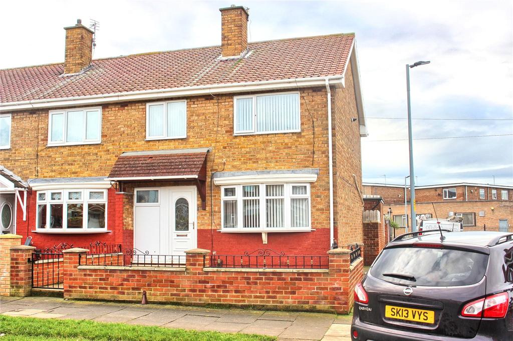 3 Bedrooms End Of Terrace House for sale in Ravendale Road, Middlesbrough