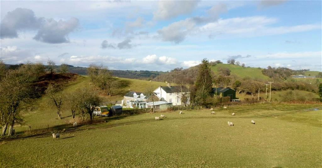 3 Bedrooms Detached House for sale in Bryn Y Pentre And The Barn Annexe, Aberhafesp, Newtown, Powys, SY16