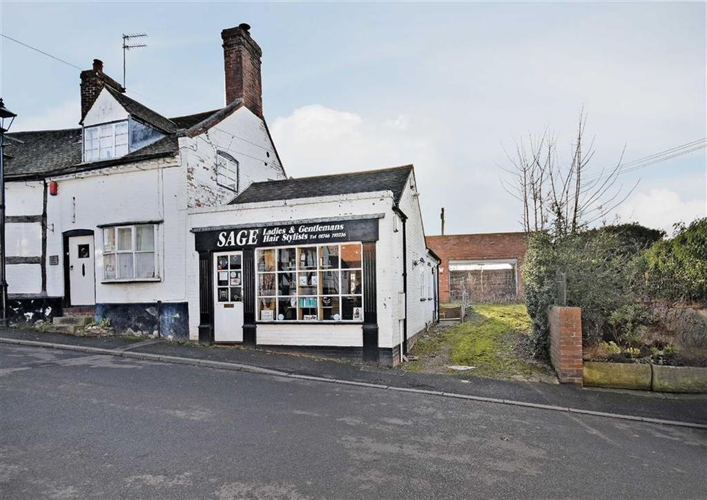 1 Bedroom Land Commercial for sale in Building Plot And Commercial Premises, 4a, High Street, Claverley, Wolverhampton, Shropshire, WV5