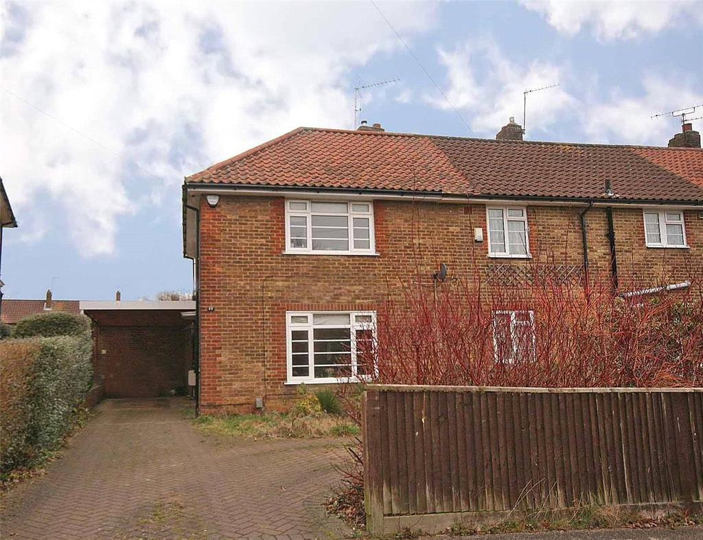 2 Bedrooms End Of Terrace House for sale in Leigh Common, Welwyn Garden City, Hertfordshire