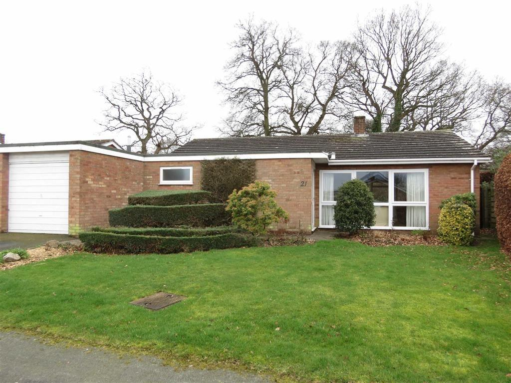 2 Bedrooms Detached Bungalow for sale in Brook Road, Shrewsbury, Shropshire
