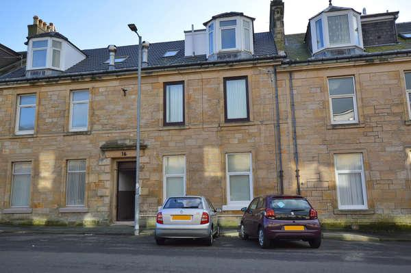 2 Bedrooms Flat for sale in 16D Winton Street, Ardrossan, KA22 8JF