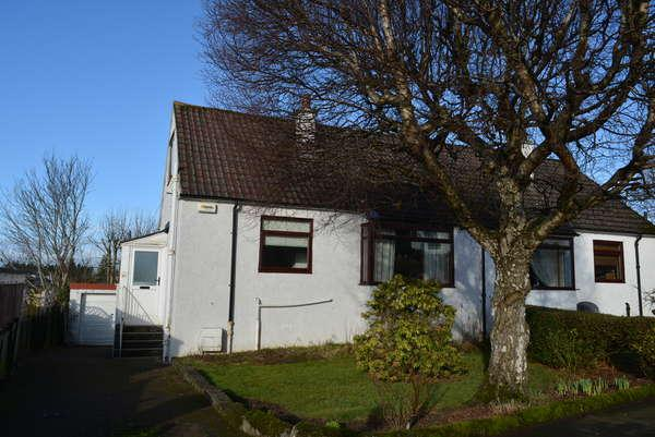 3 Bedrooms Semi Detached Bungalow for sale in 1 Daleview Grove, Clarkston, Glasgow, G76 7XS