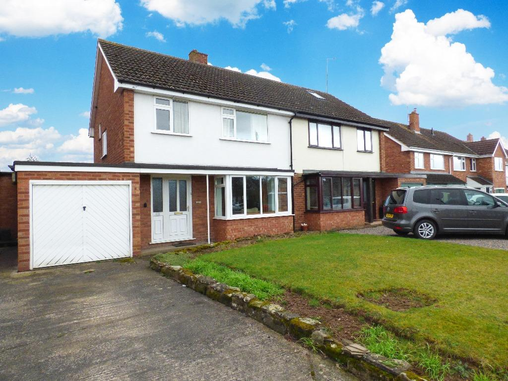 3 Bedrooms Semi Detached House for sale in Ledbury Road, Tupsley, Hereford