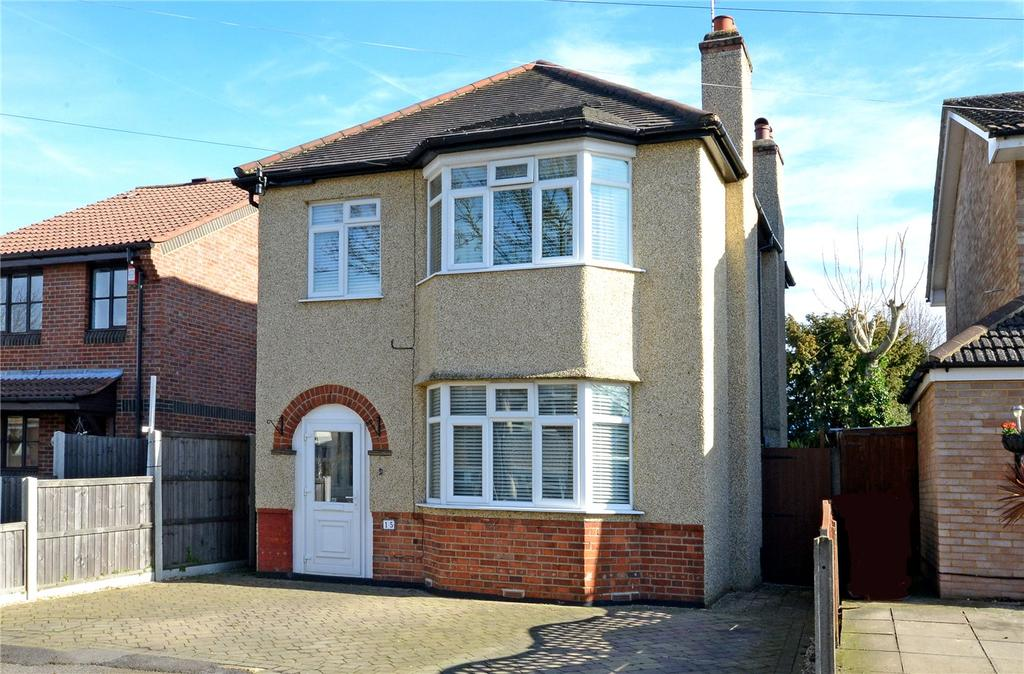 3 Bedrooms Detached House for sale in Jeffs Road, Cheam, Sutton, SM1