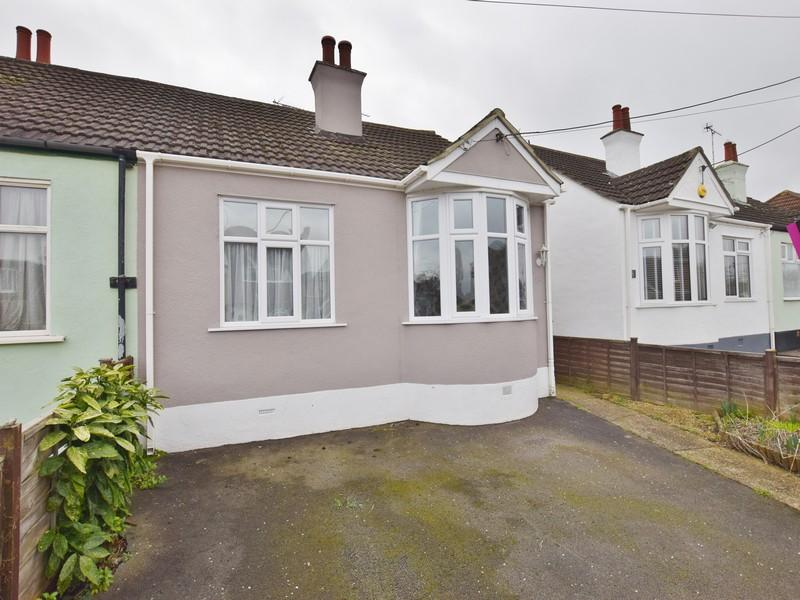 2 Bedrooms Semi Detached Bungalow for sale in The Cresent, Hadleigh