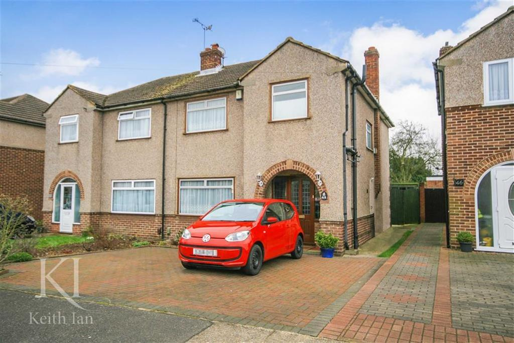 3 Bedrooms Semi Detached House for sale in Edinburgh Crescent, Waltham Cross