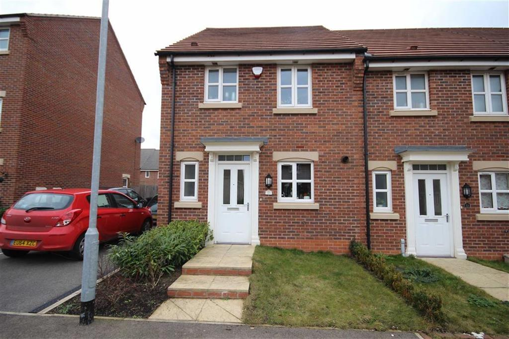 3 Bedrooms End Of Terrace House for sale in Spire Close, Lincoln, Lincolnshire