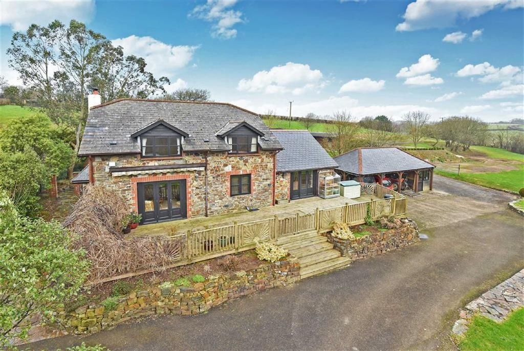 4 Bedrooms Detached House for sale in Huntshaw, Torrington, Devon, EX38