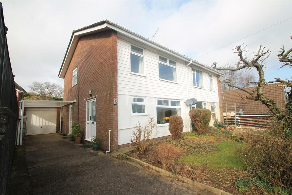 3 Bedrooms Semi Detached House for sale in Eastfield Drive, Caerleon,