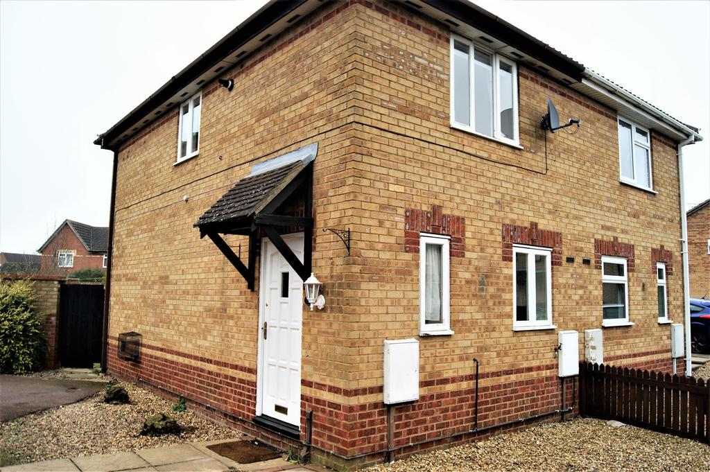 2 Bedrooms End Of Terrace House for sale in Windrush Way, Long Lawford, Rugby