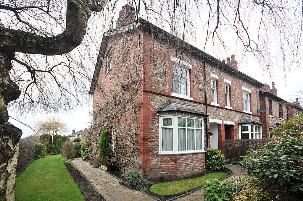 3 Bedrooms Semi Detached House for sale in Bourne Street, Wilmslow