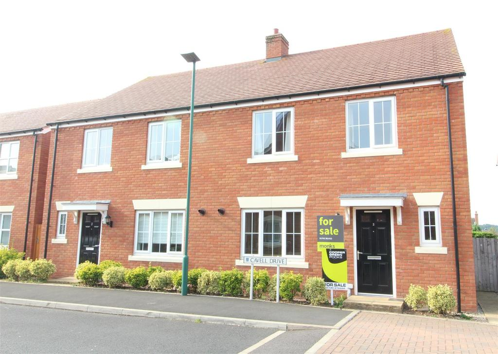 4 Bedrooms Semi Detached House for sale in Cavell Drive, Copthorne, Shrewsbury