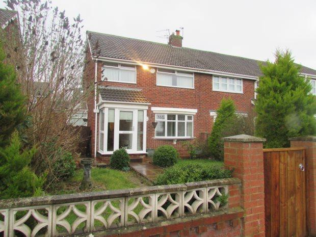 3 Bedrooms Semi Detached House for sale in MARLEY WALK, CLAVERING, HARTLEPOOL