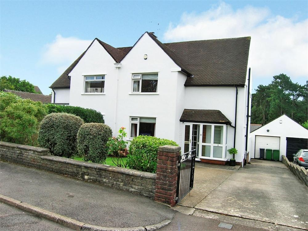 3 Bedrooms Semi Detached House for sale in Church Close, Lisvane, Cardiff