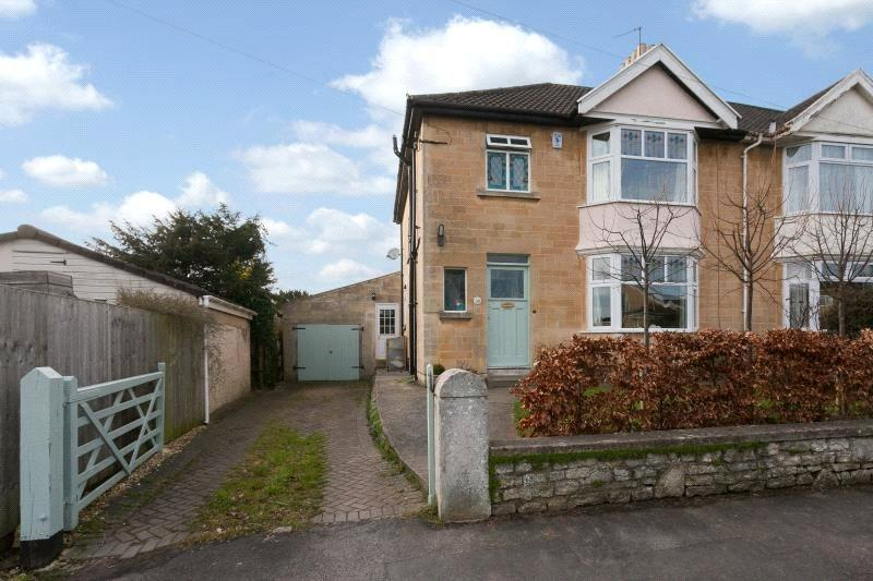 4 Bedrooms Semi Detached House for sale in Penn Lea Road, Weston, Bath, BA1