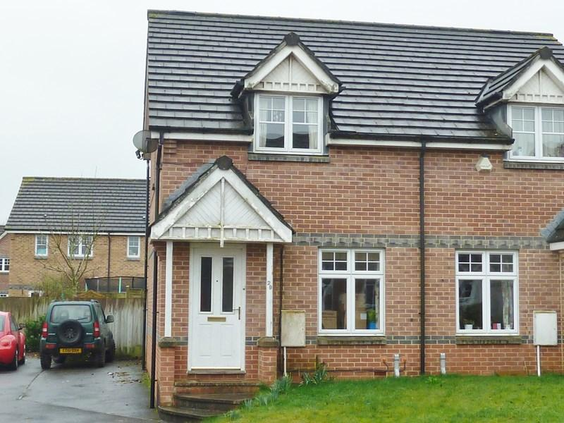 2 Bedrooms Semi Detached House for sale in Westbury View, Peasedown St John, Bath