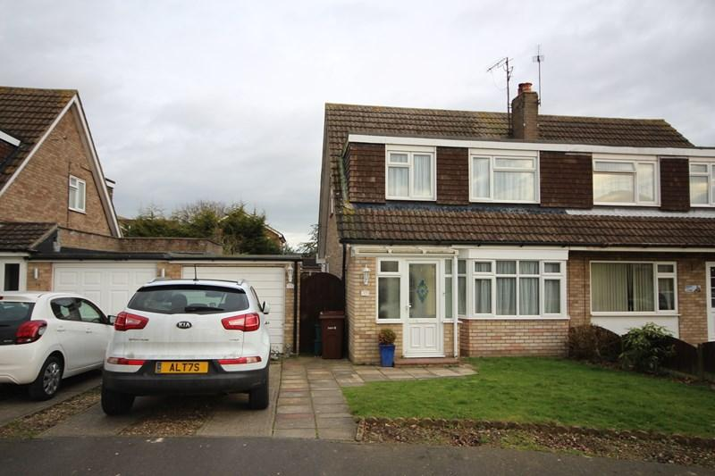 3 Bedrooms Semi Detached House for sale in St. Clair Close, Clacton-On-Sea