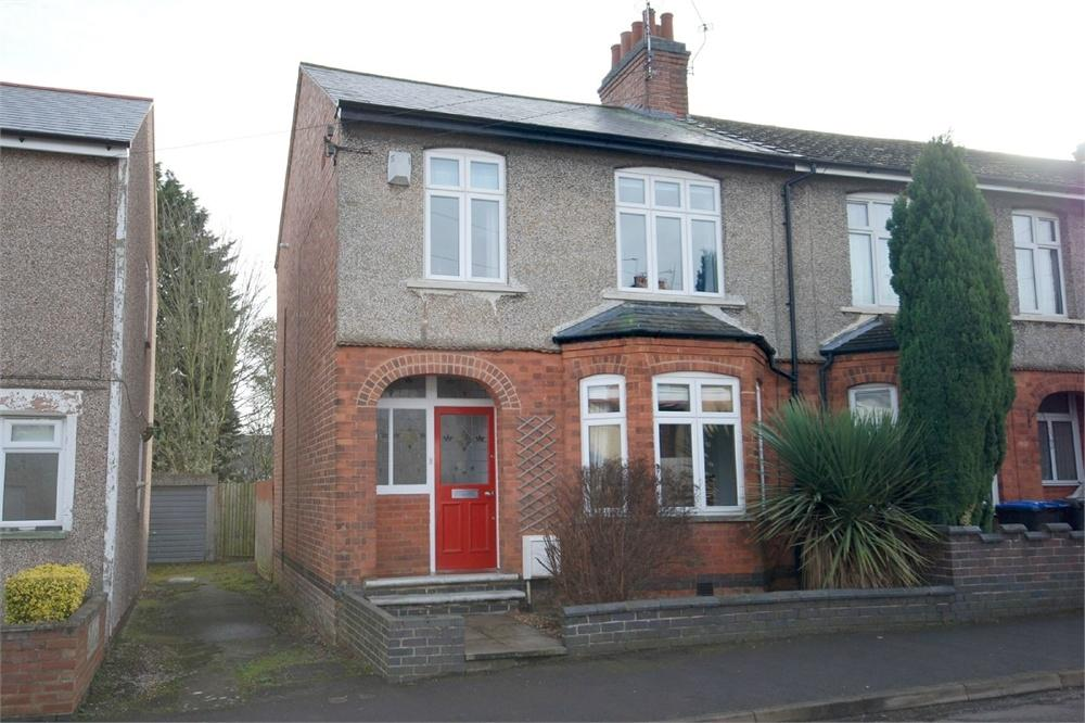 3 Bedrooms End Of Terrace House for sale in Holbrook Avenue, RUGBY, Warwickshire