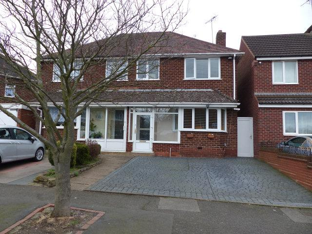 3 Bedrooms Semi Detached House for sale in Morland Road,Great Barr,Birmingham