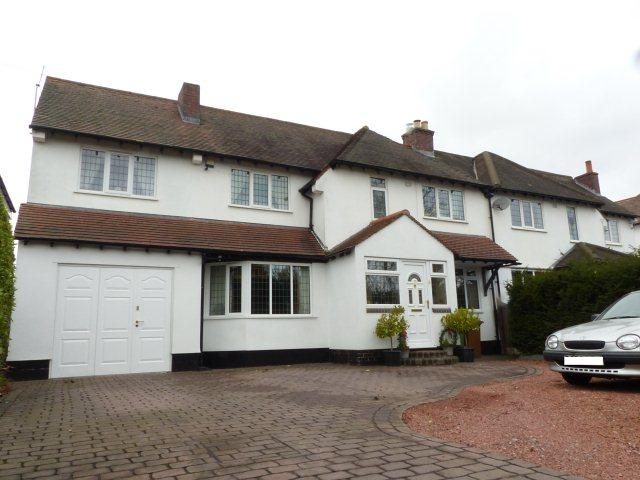 4 Bedrooms Semi Detached House for sale in Chester Road,Streetly,Sutton Coldfield