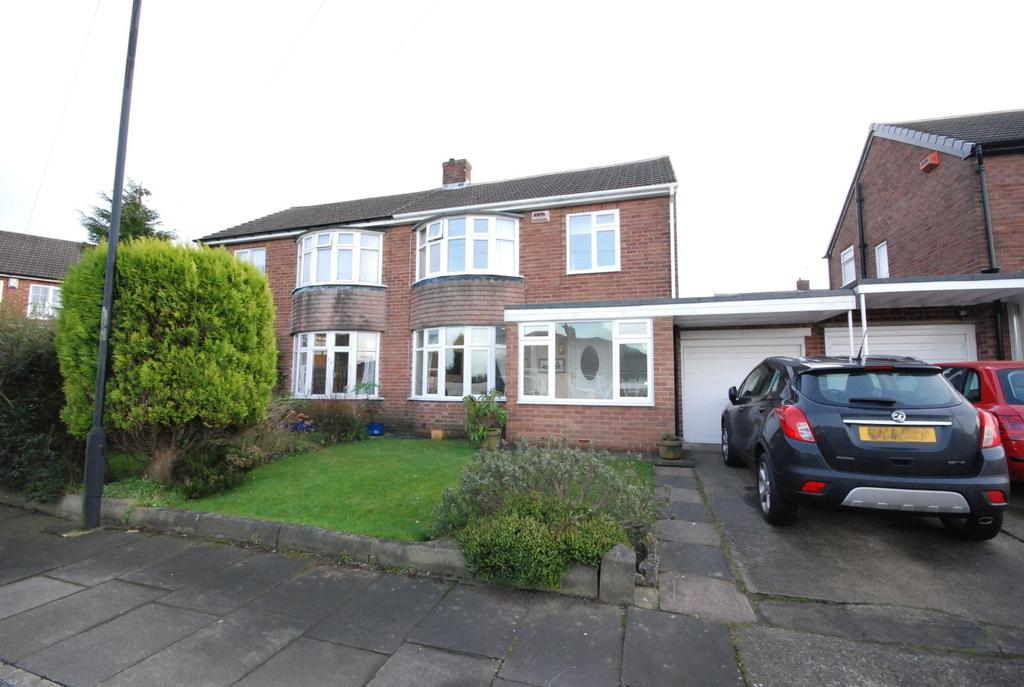 3 Bedrooms Semi Detached House for sale in Woodhorn Gardens, Wideopen