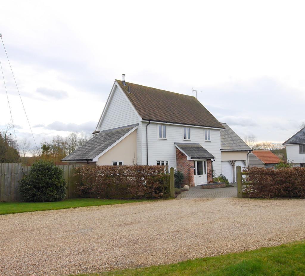 4 Bedrooms Detached House for sale in Upper Street, Layham, Ipswich, Suffolk, IP7 5JZ