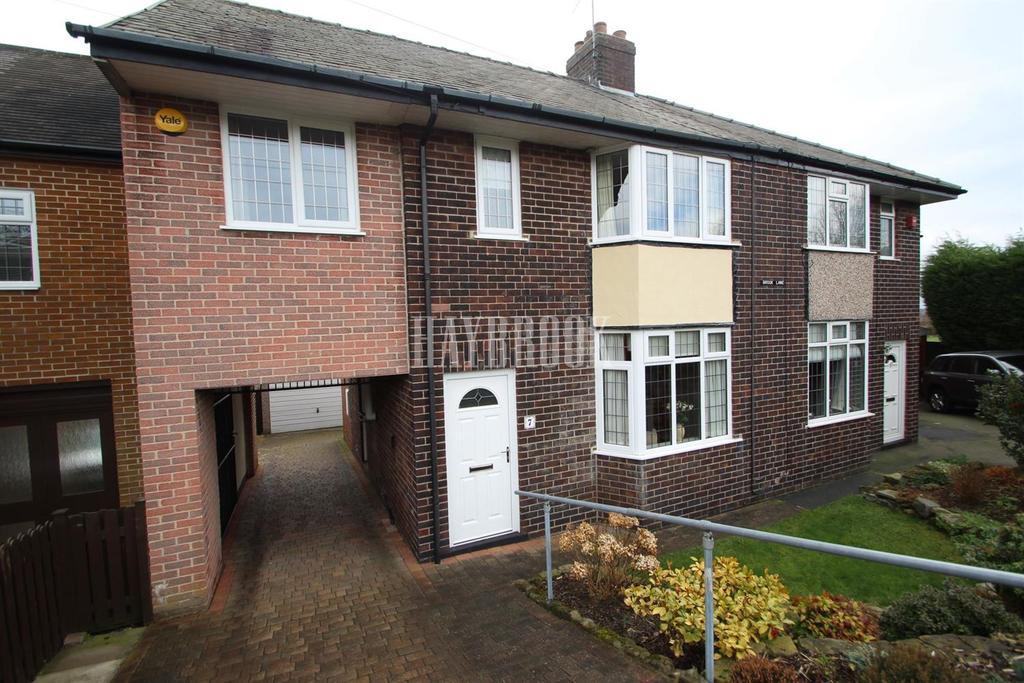 3 Bedrooms Semi Detached House for sale in Brook Lane, Grenoside