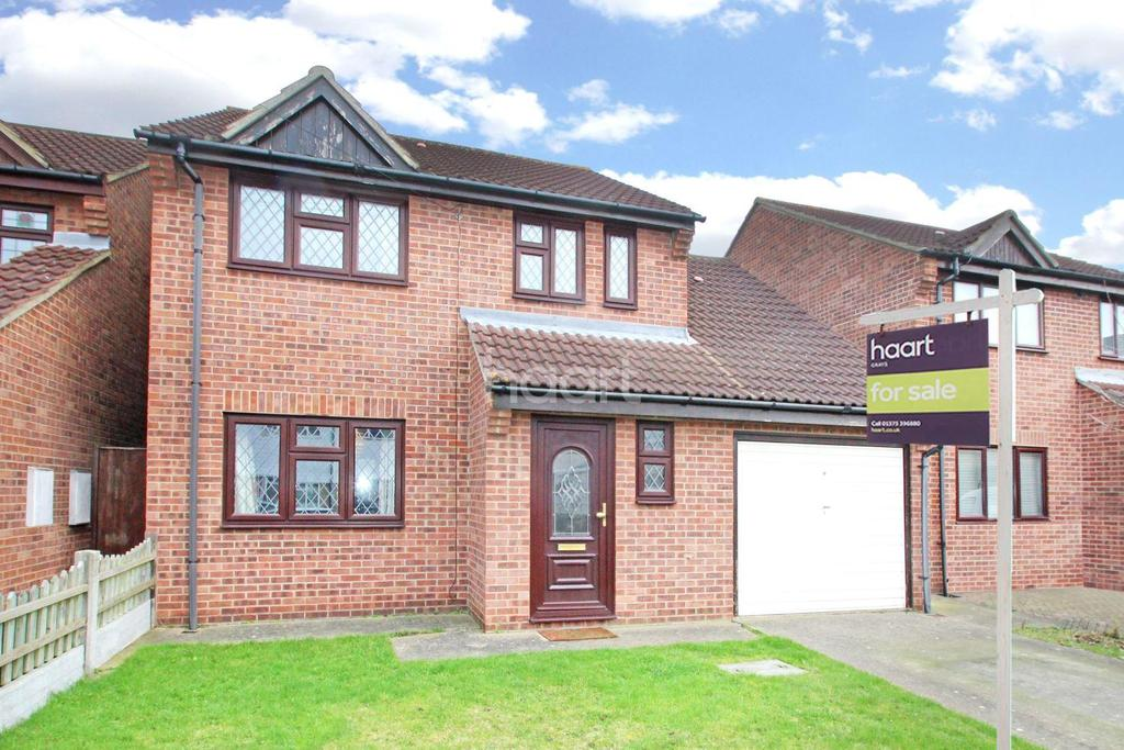 4 Bedrooms Detached House for sale in Albert Close, North Grays