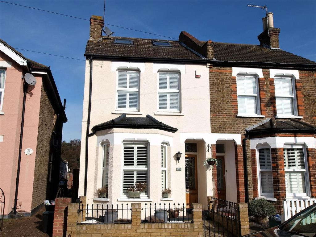 4 Bedrooms Semi Detached House for sale in Ridley Road, Shortlands, Bromley