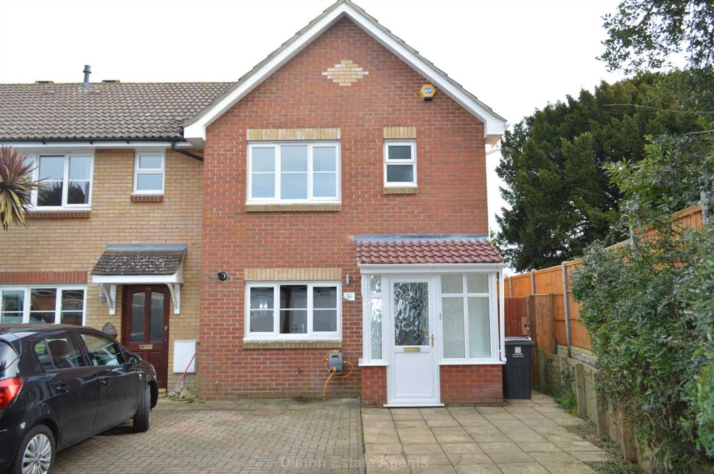 3 Bedrooms End Of Terrace House for sale in St Faiths Close, Gosport