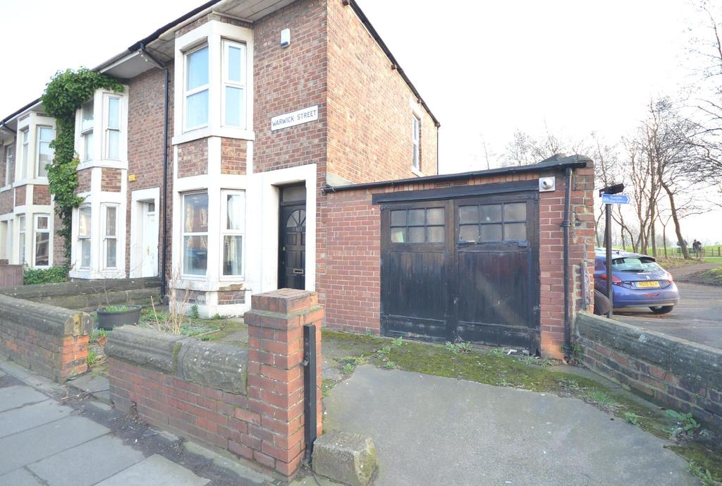 2 Bedrooms End Of Terrace House for sale in Heaton