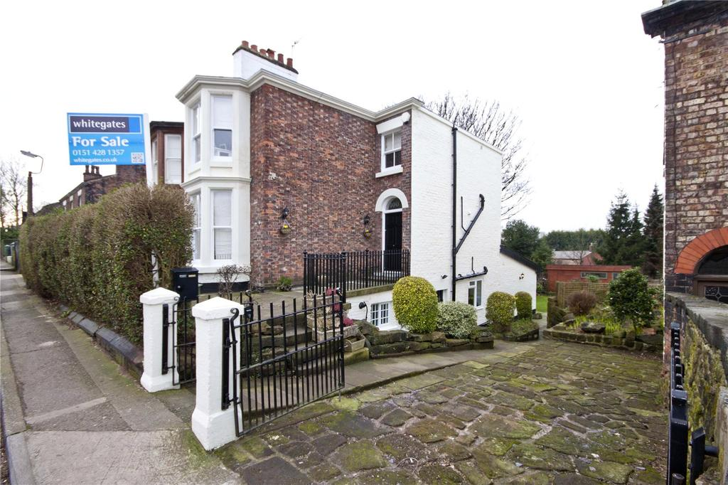 4 Bedrooms Semi Detached House for sale in Allerton Road, Woolton, Liverpool, Merseyside, L25