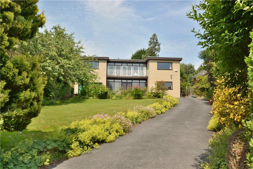 6 Bedrooms Detached House for sale in The Crescent, Alwoodley, Leeds, West Yorkshire