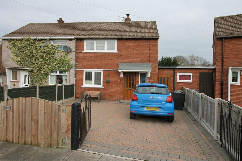 2 Bedrooms Semi Detached House for sale in Pennine Way, Carlisle