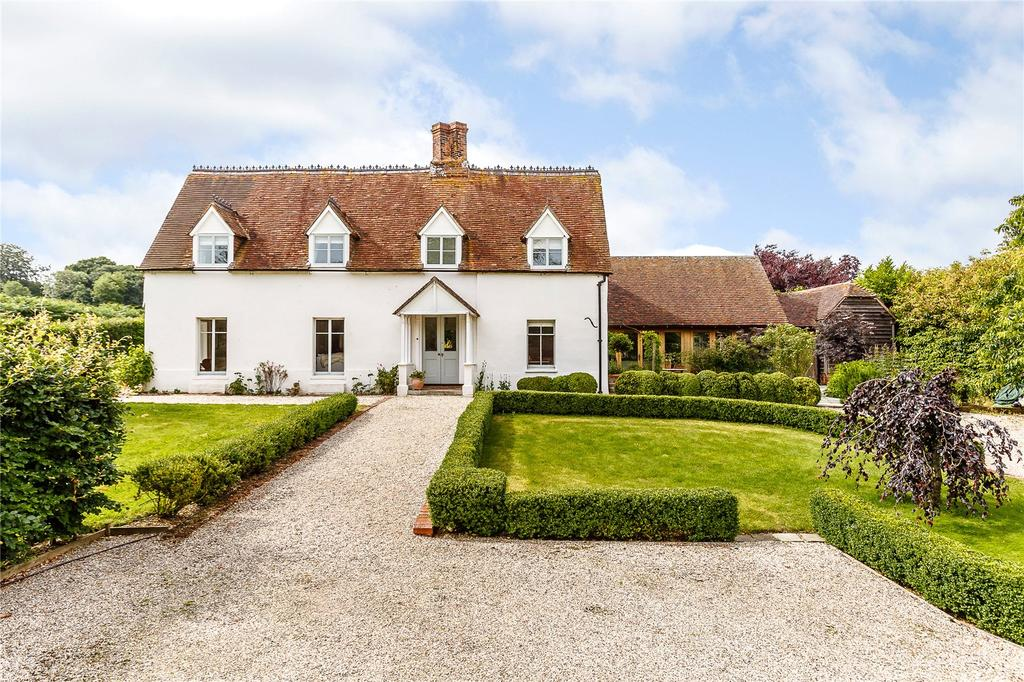 5 Bedrooms Detached House for sale in Gore End, Newbury, Berkshire