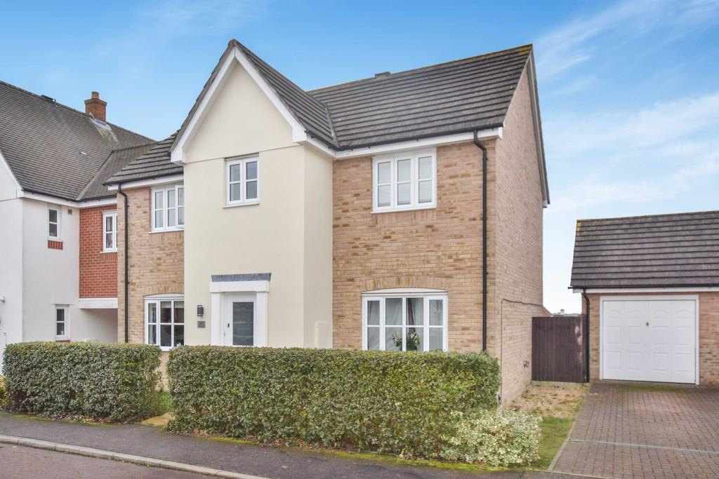 4 Bedrooms Link Detached House for sale in Cranborne Close, Turner Rise, Colchester