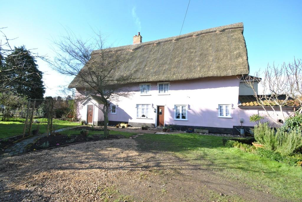 4 Bedrooms Detached House for sale in Thrandeston, Suffolk