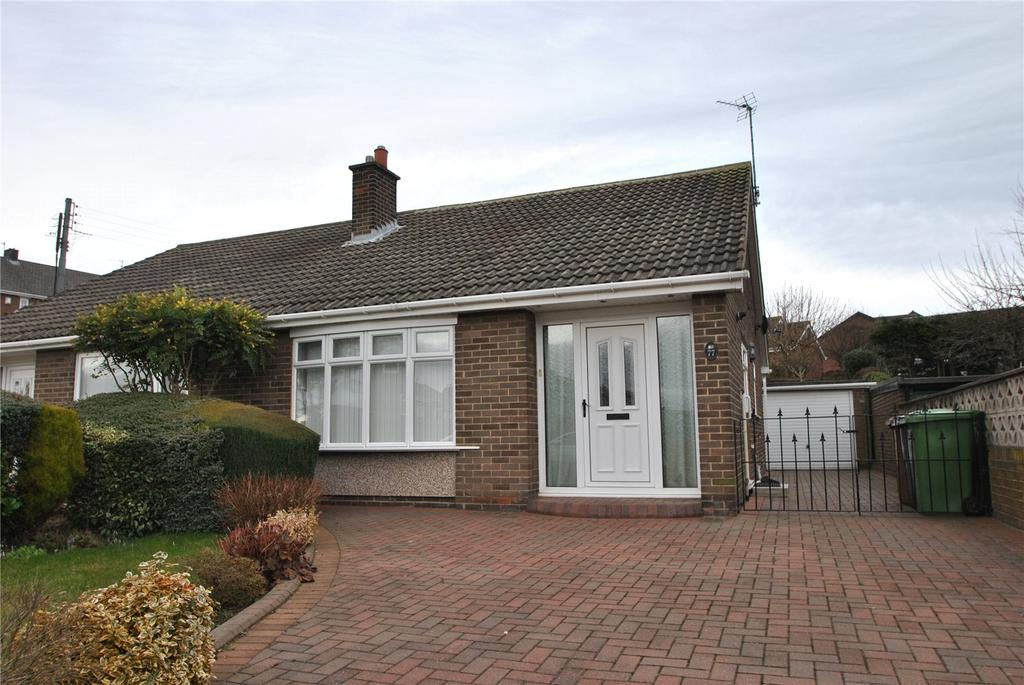 2 Bedrooms Semi Detached Bungalow for sale in Leeholme, Houghton le Spring, Tyne and Wear, DH5