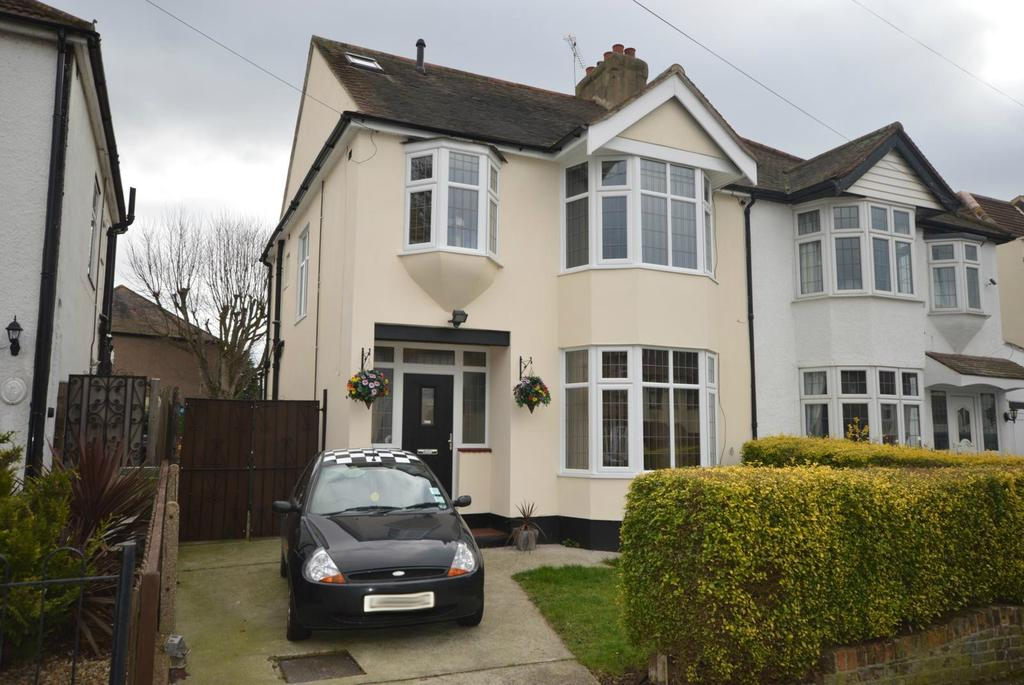 4 Bedrooms Semi Detached House for sale in Grey Towers Avenue, Hornchurch, Essex, RM11