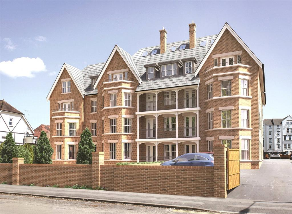 2 Bedrooms Flat for sale in Exton Gardens, 70 Knyveton Road, Bournemouth, BH1