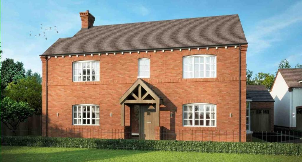 5 Bedrooms Detached House for sale in Widney Road, Bentley Heath