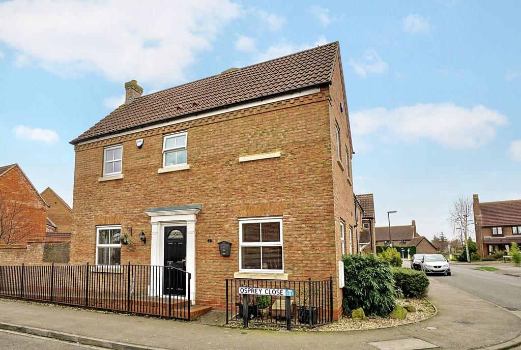 3 Bedrooms Semi Detached House for sale in Osprey Close, Sandy